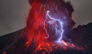 Vulkánvillám